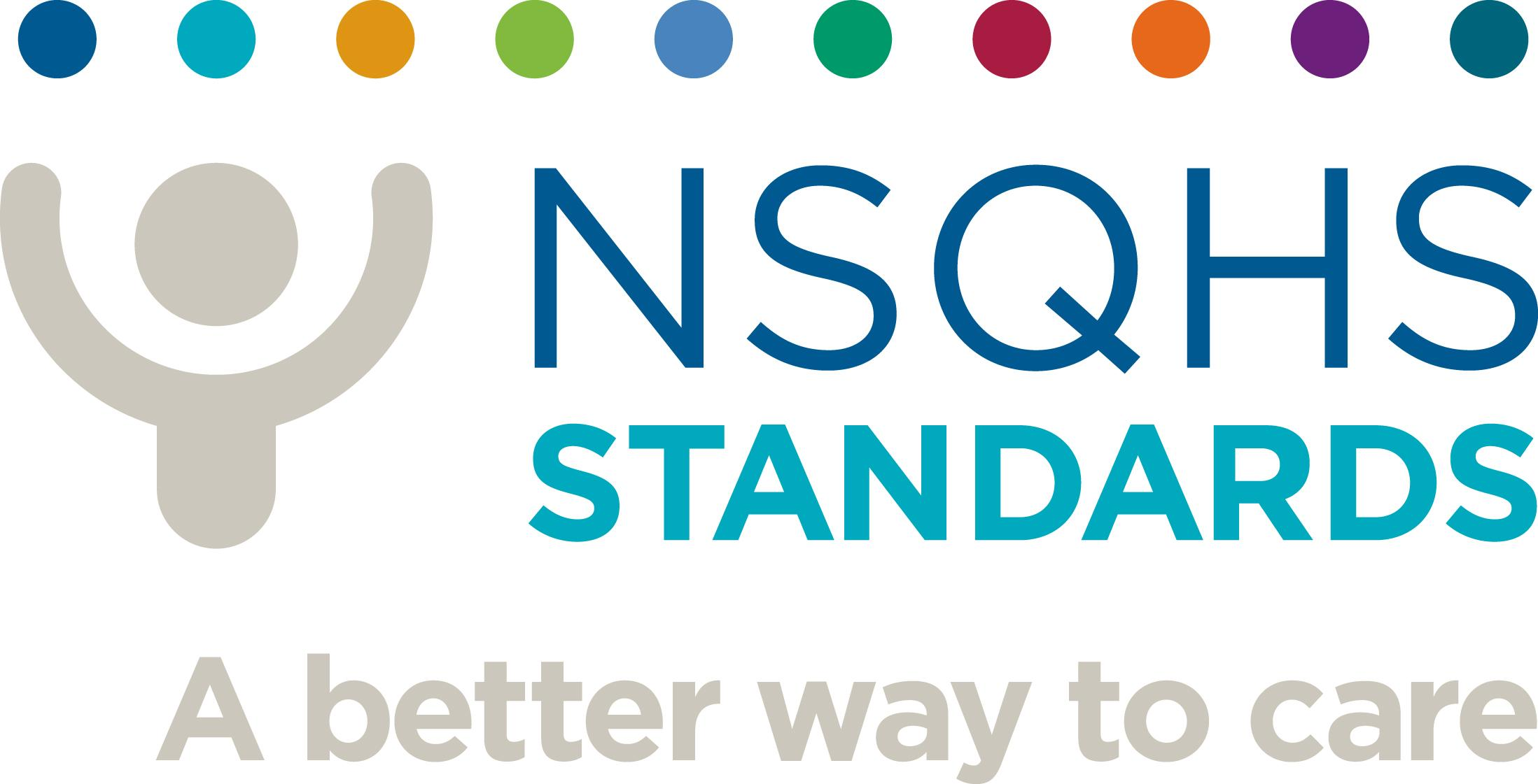 National Safety and Quality Health Service (NSQHS) Standards logo
