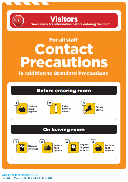 Approach 4 Contact Precautions Icon