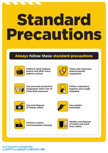 Approach 4 - Standard Precautions Icon