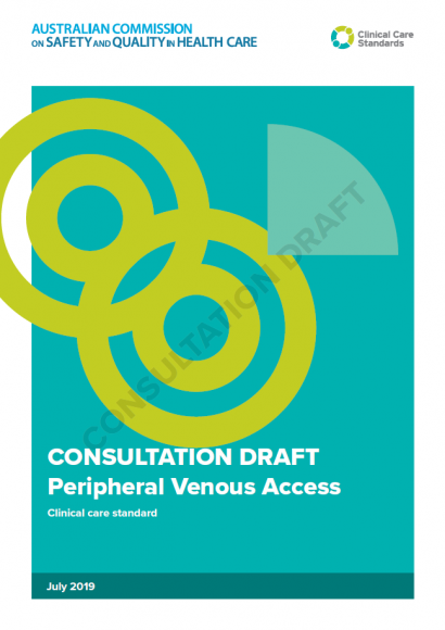 Peripheral Venous Access - Consultation Draft July 2019