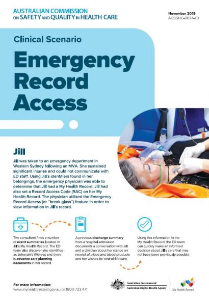 My Health Record - Clinical Scenario 2 - Emergency access thumbnail