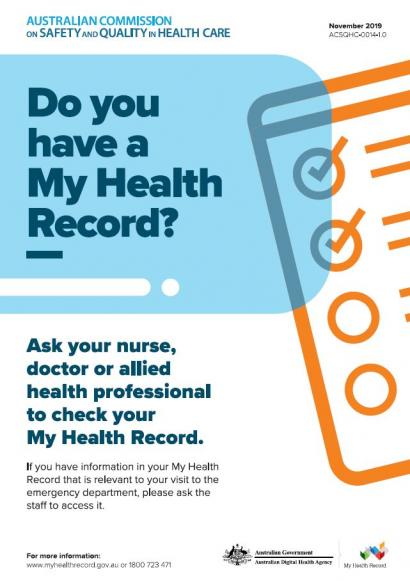 My Health Record - Poster set