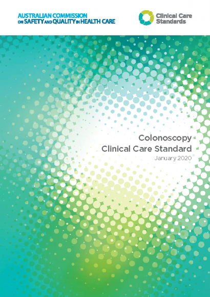 Colonoscopy Clinical Care Standard thumbnail