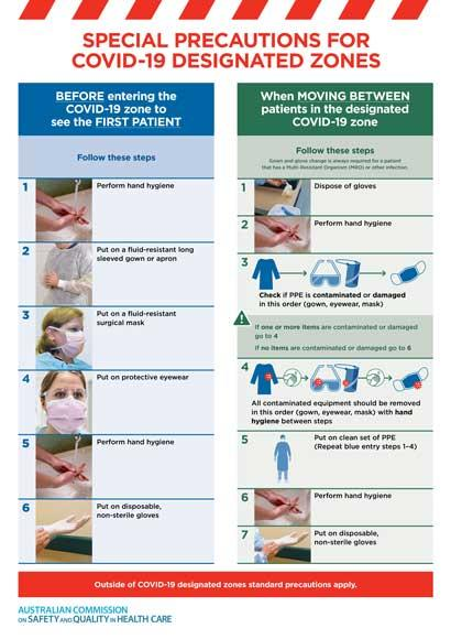 Thumbnail Poster Special Precautions for Covid-19 Designated Zones