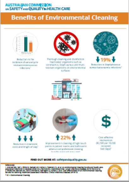 Benefits of Environment Cleaning Bundle - Infographic - July 2020