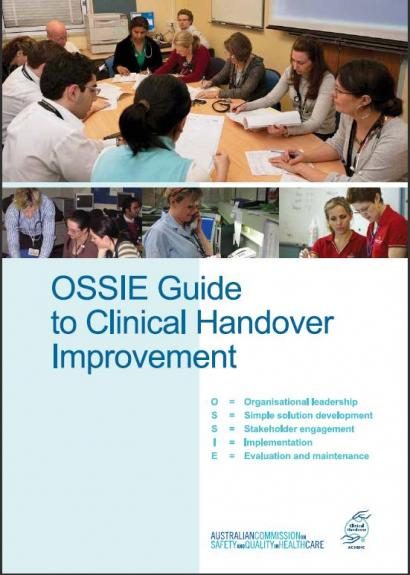OSSIE guide cover